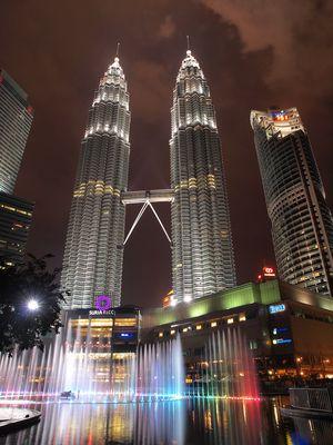 Petronas Tower by Night