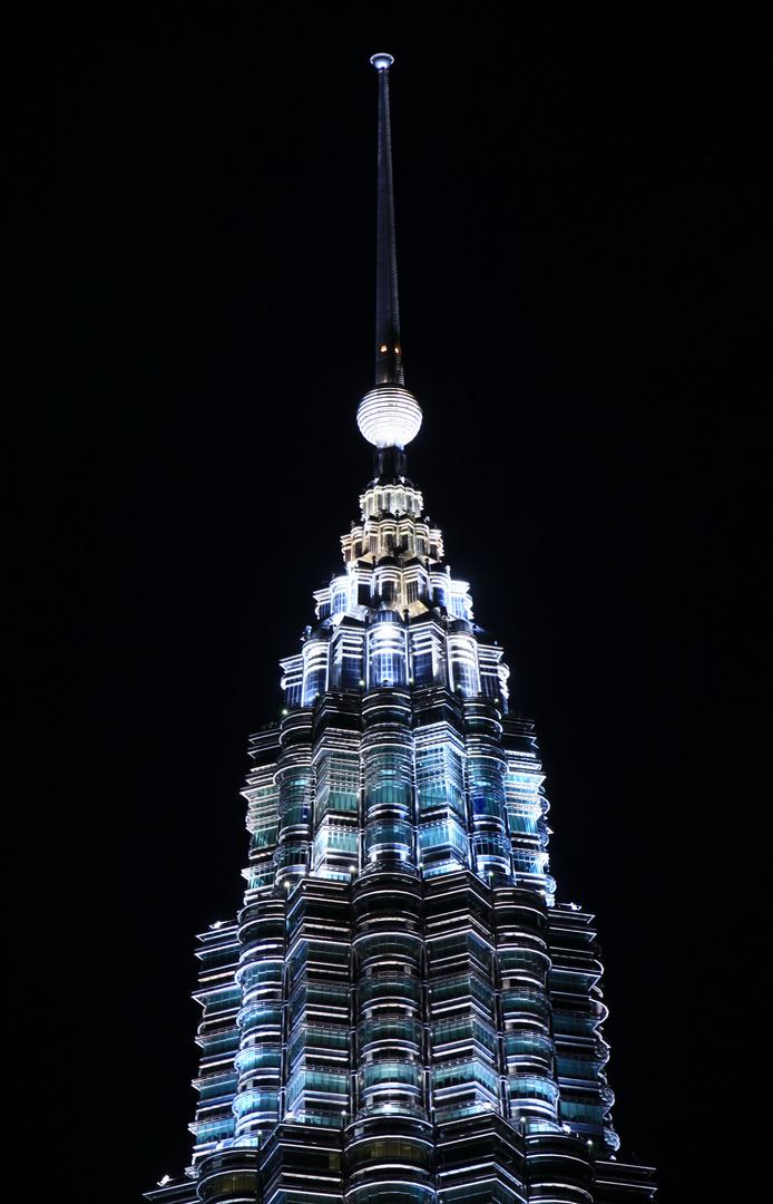 Petronas Towers ganz oben