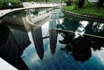 Petronas Towers - im Wasser