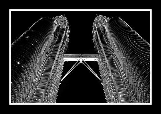 Petronas Towers Symmetry