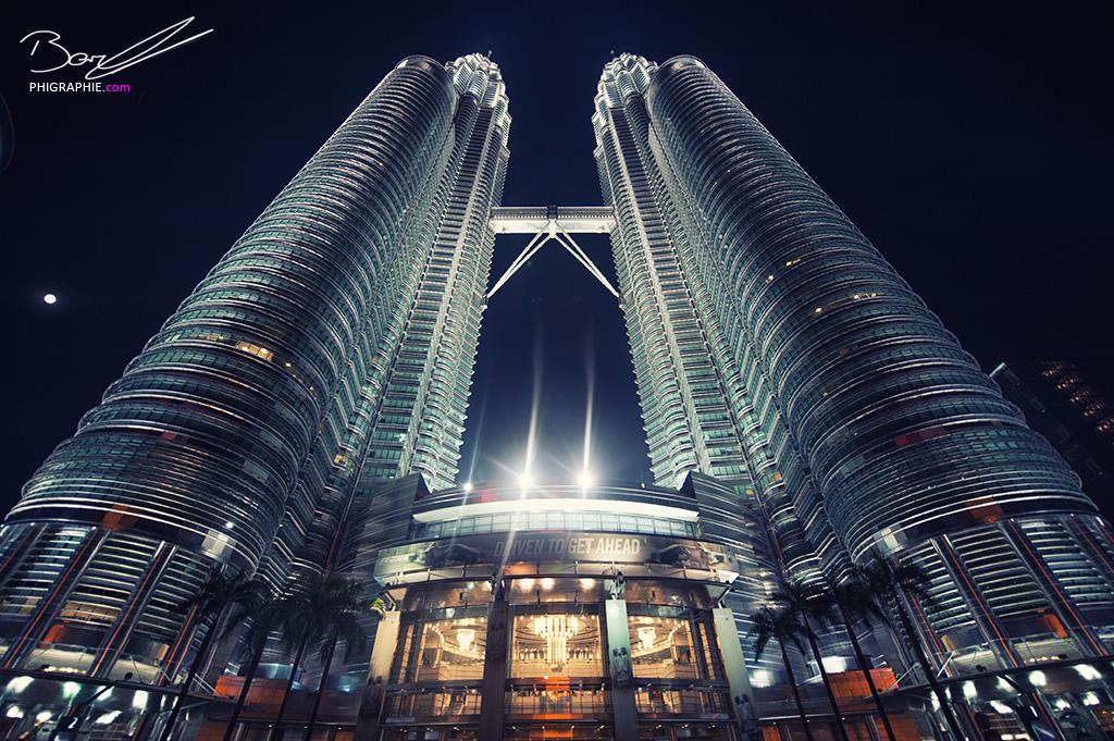 PetronasTwinTowers @ Night