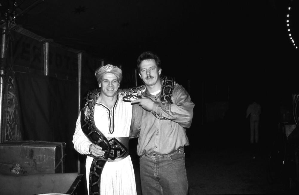 Petruhin und Ich in den 80ger Jahren