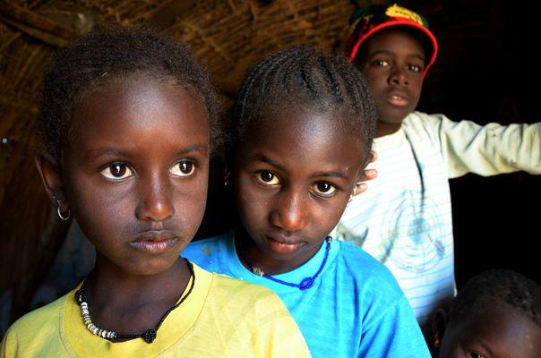 Peul Children, Senegal