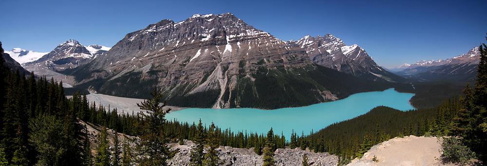 Peyto Lake (Alberta, Kanada)