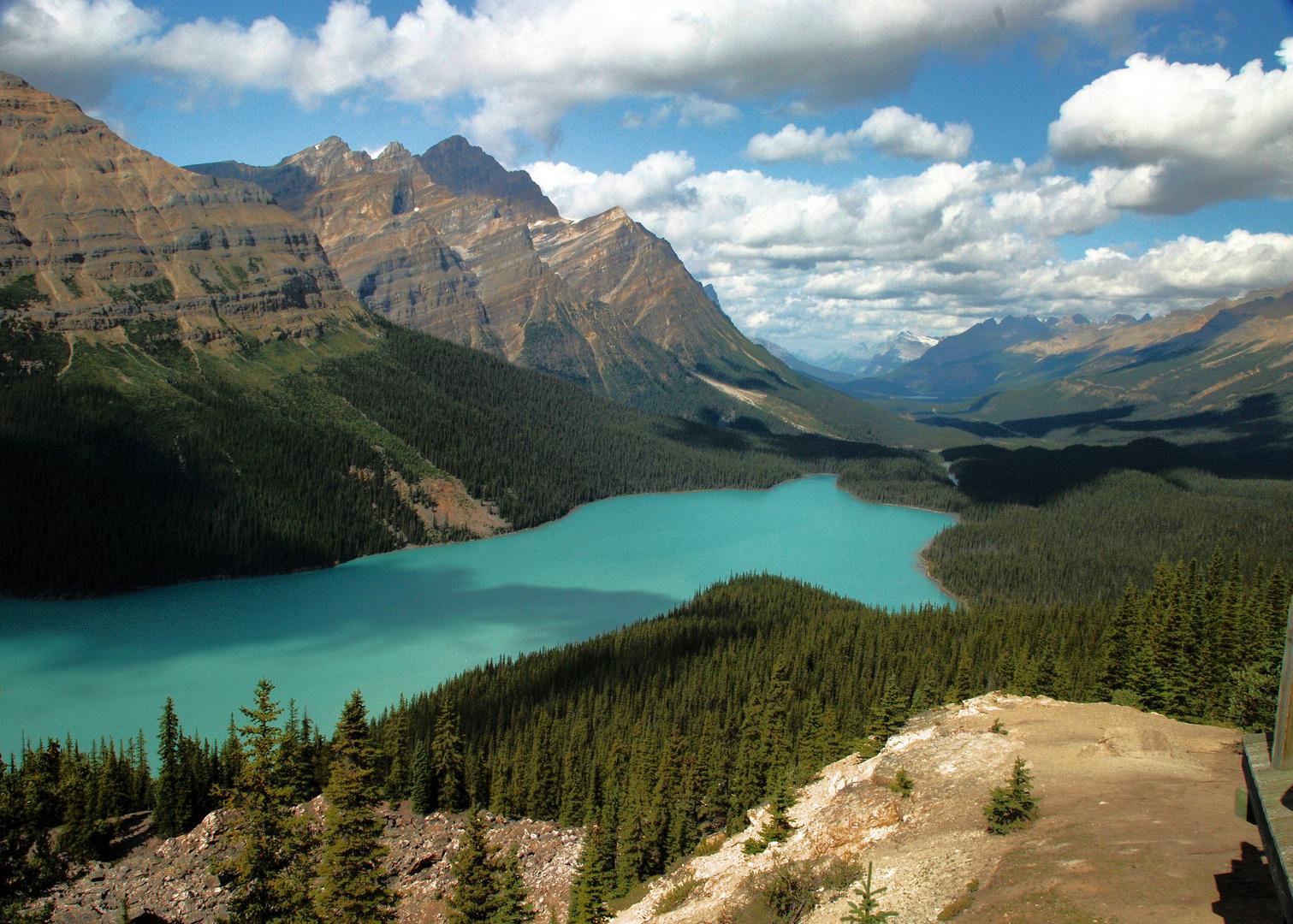 Peyto Lake (Banff National Park, Canada) 2009