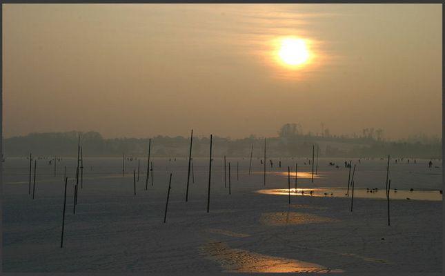 Pfäffikersee im Winter 2006