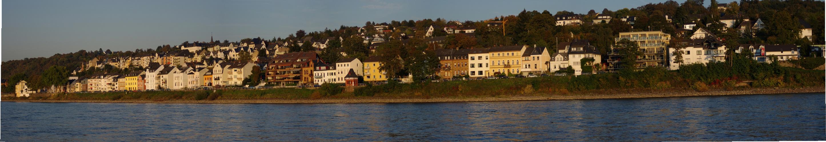 Pfaffendorff auch Rheinisches Nizza