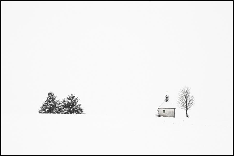 Pfaffenwinkel im Winter 1