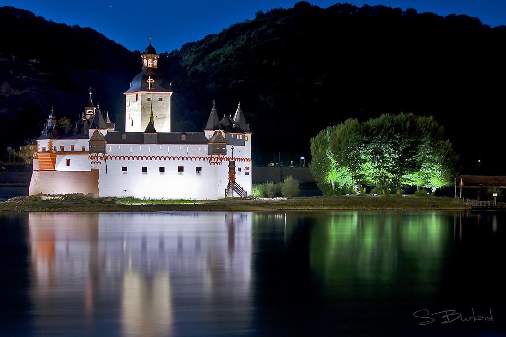 Pfalzgrafenstein bei Nacht