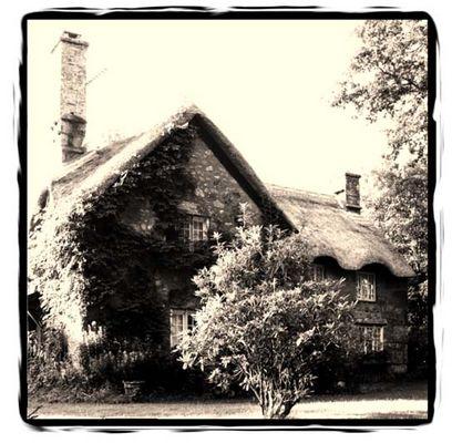 Pfarrhaus im Exmoor, Süd-England