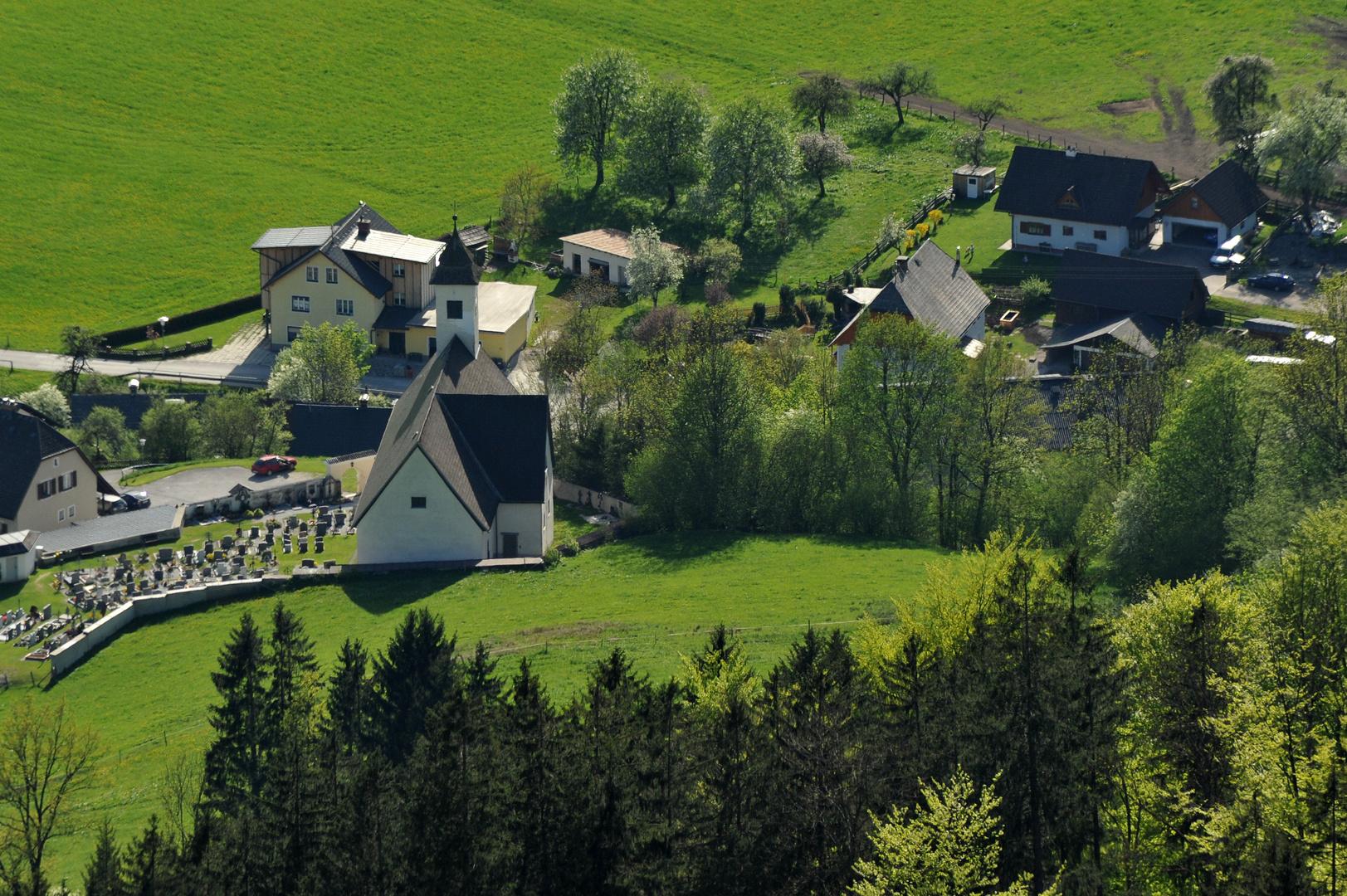 Pfarrkirche Hall bei Admont