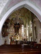 Pfarrkirche im Berchtesgadener Land
