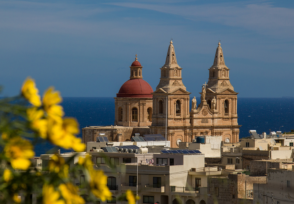 Pfarrkirche in Mellieha auf Malta