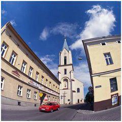 Pfarrkirche in Oswiecim ( Altstadt )