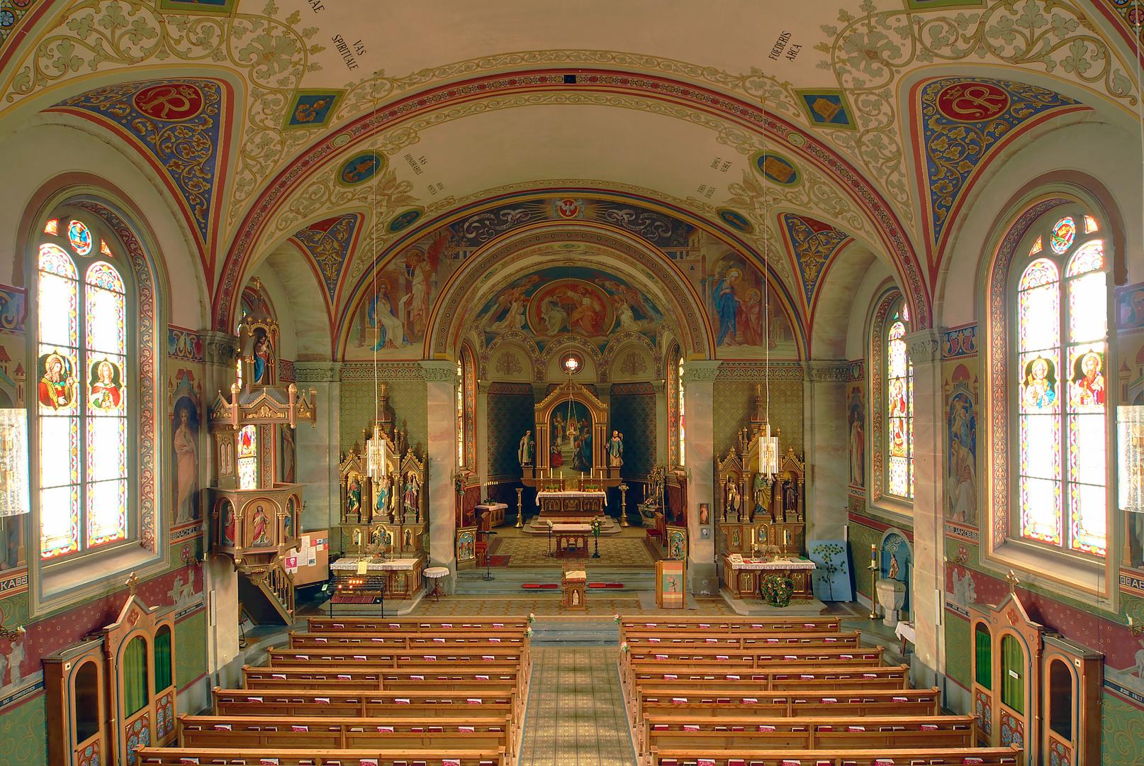 Pfarrkirche Maria Opferung von Riezlern im Kleinwalsertal (Vorarlberg)