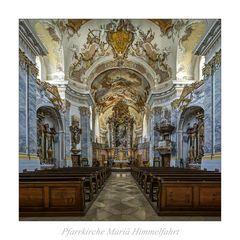 """Pfarrkirche Mariä Himmelfahrt - Fürstenzell """" Gott zu Gefallen..."""""""