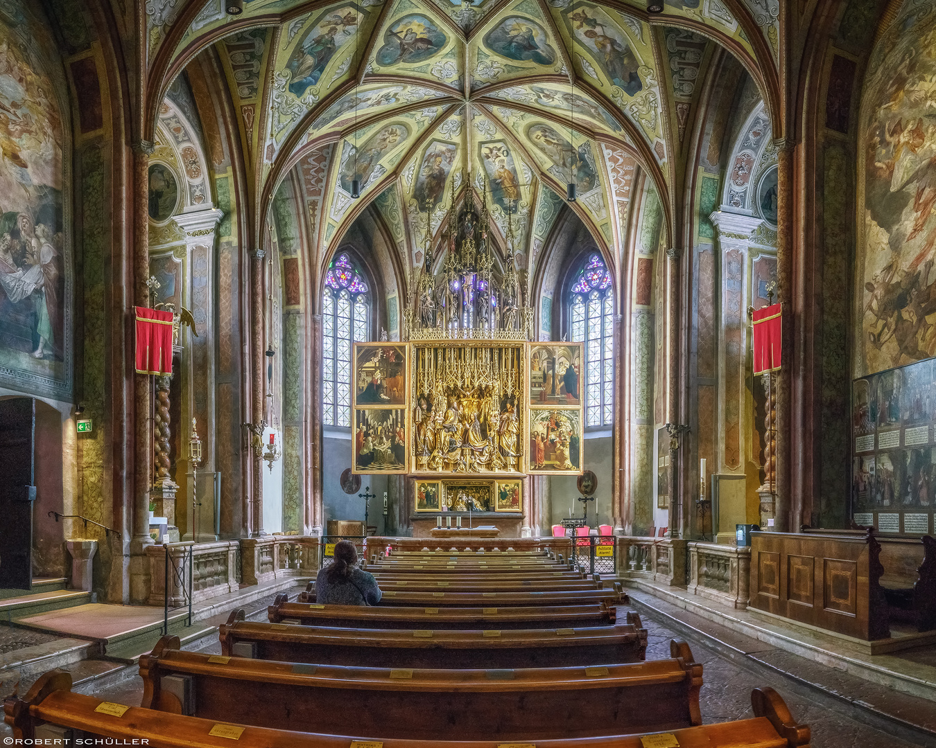 Pfarrkirche Sankt Wolfgang am Wolfgangsee mit dem weltberühmten gotischen Altar