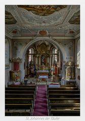 "Pfarrkirche St. Johannes d. Täufer (Roßdorf) "" Gott zu Gefallen... """