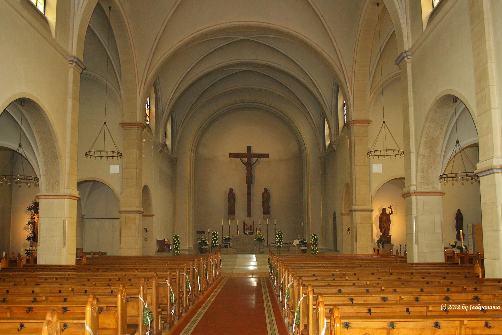 Pfarrkirche St. Johannes d.T., Kirchhellen