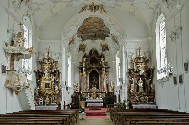Pfarrkirche St. Johannes, Kloster Wessobrunn