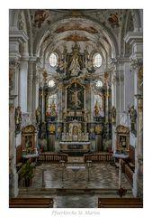 """Pfarrkirche St. Martin (Marktoberdorf) """" Gott zu Gefallen..."""""""