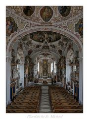 """Pfarrkirche St. Michael (Bertoldshofen) """" Gottzu Gefallen..."""""""