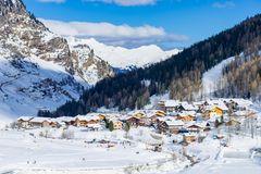 Pfelders im Schnee