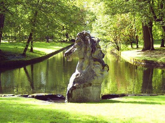 Pferd im Bayreuther Hofgarten