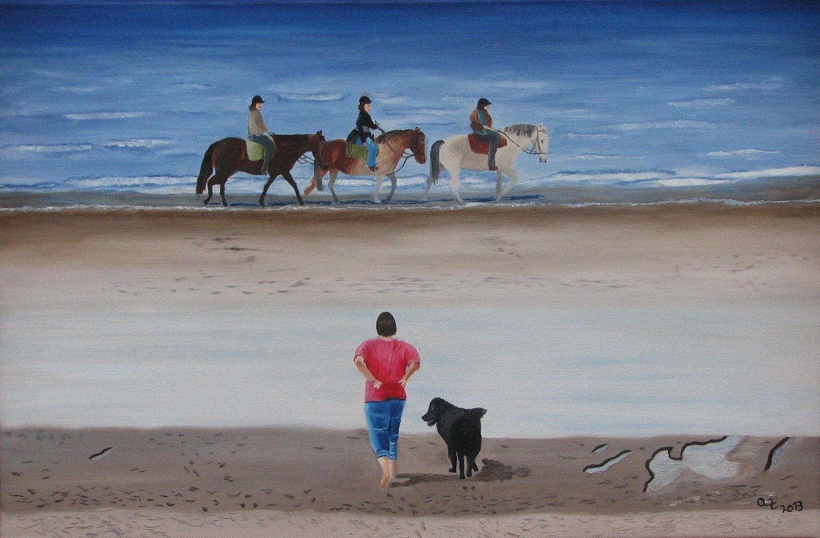 Pferde am Meer