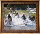 Pferdebild vom Hindernisrennen in Bad Harzburg