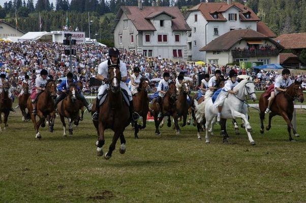 Pferdefest in Saignelegier