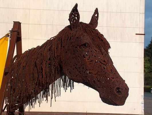 Pferdekopf (Seitenansicht)