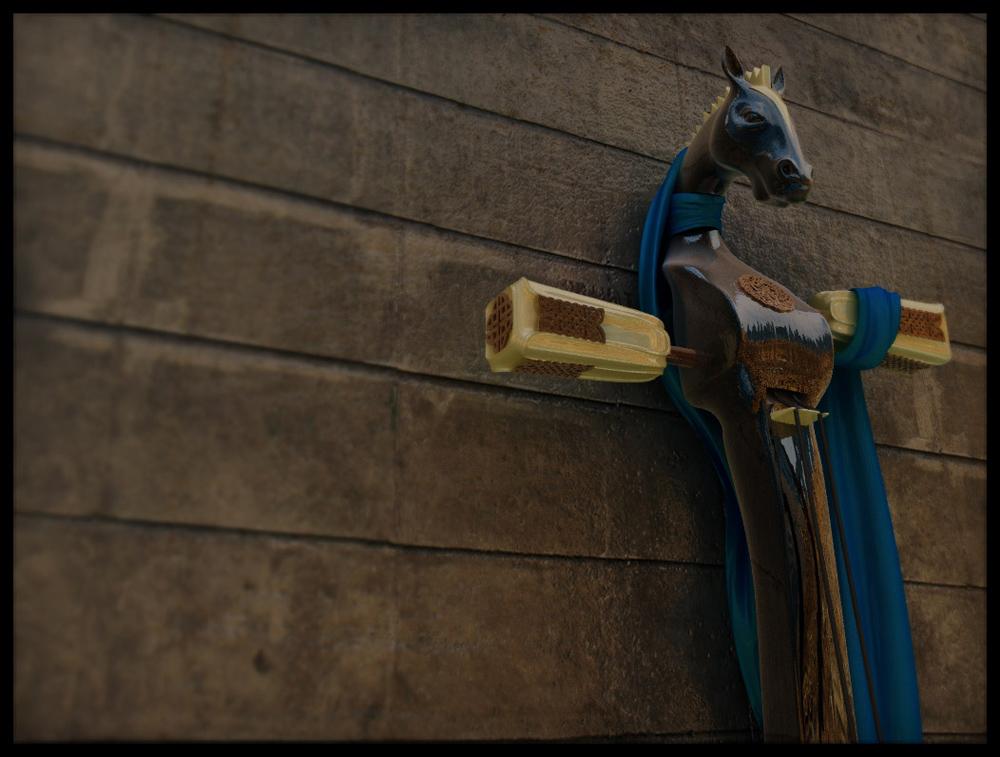Pferdekopfgeige