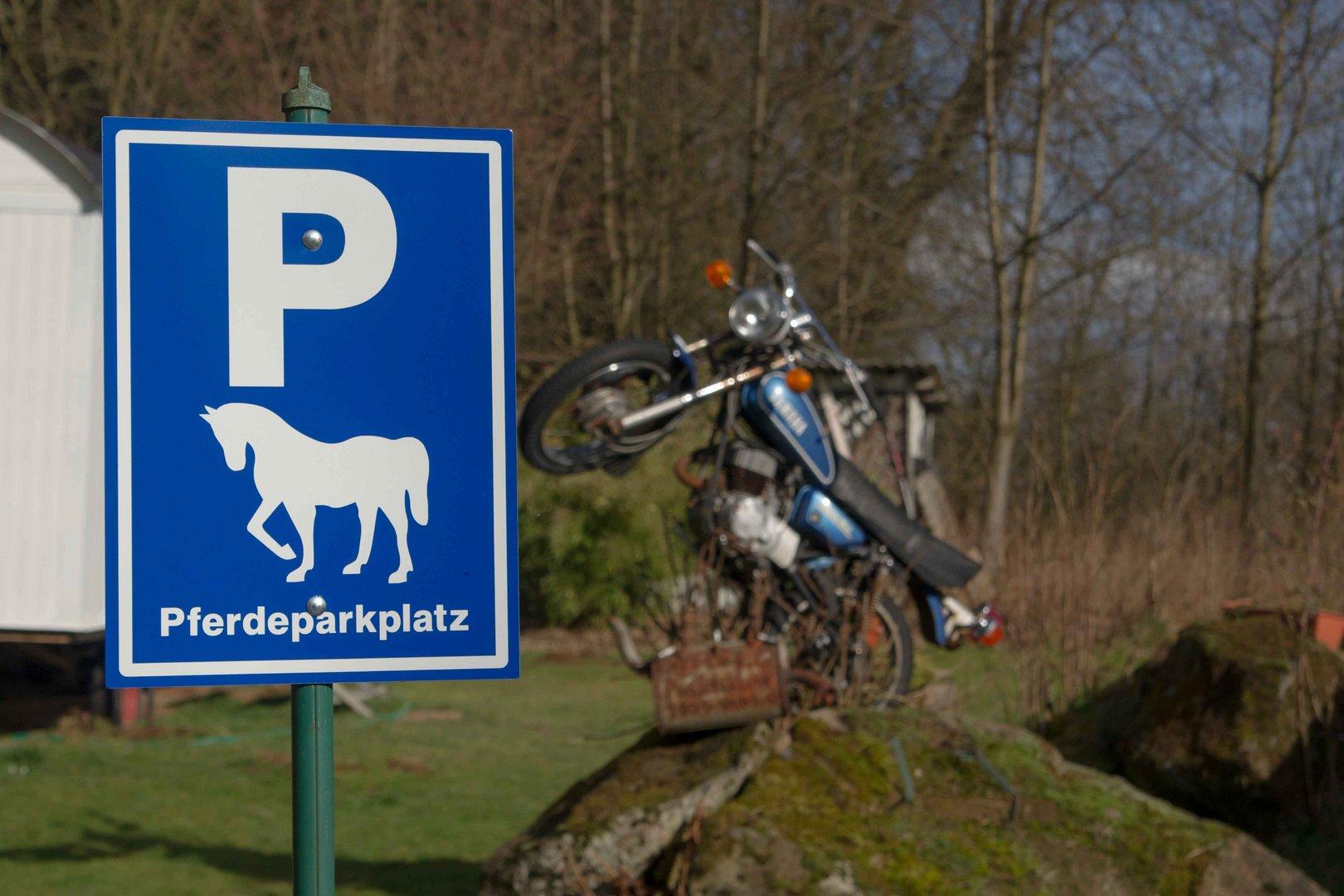 Pferdeparkplatz