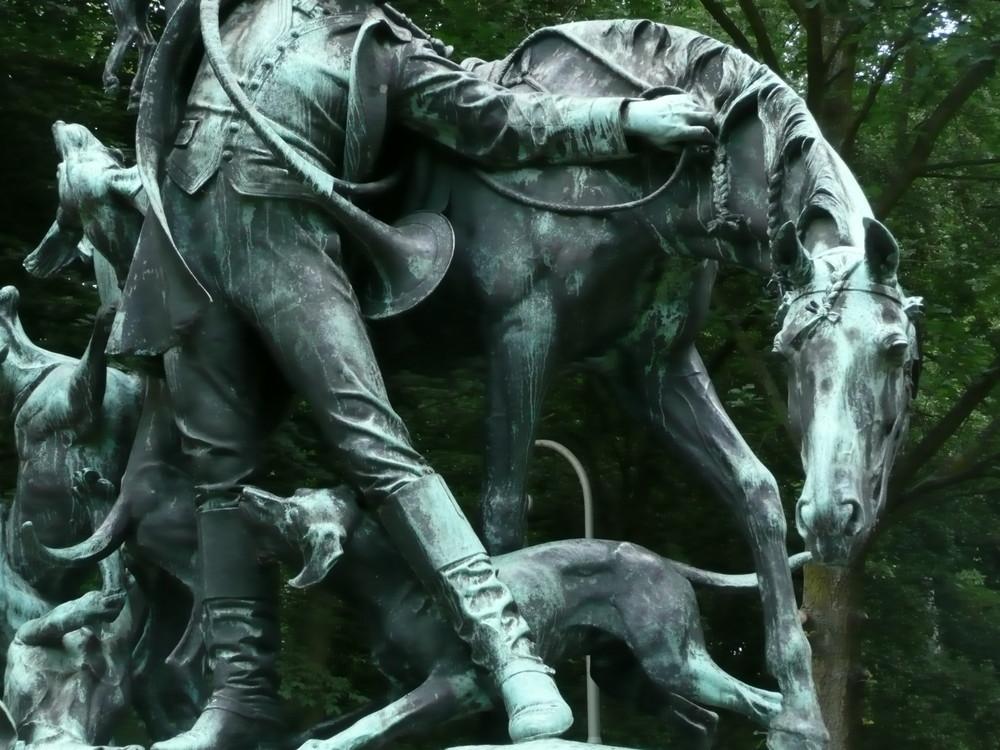 Pferdl von am Jaga in am Park in Berlin