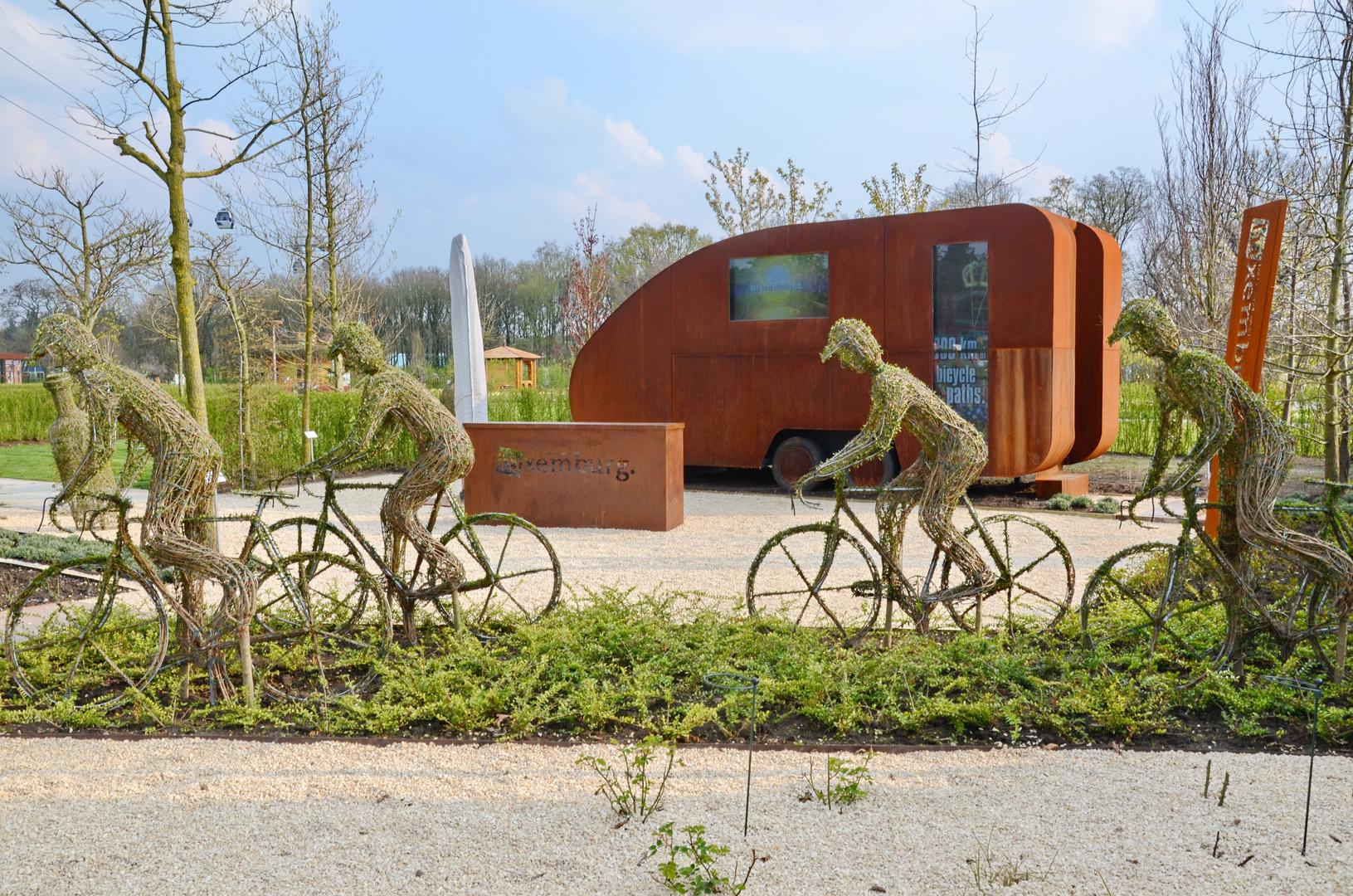 Pflanzen - Fahrrad