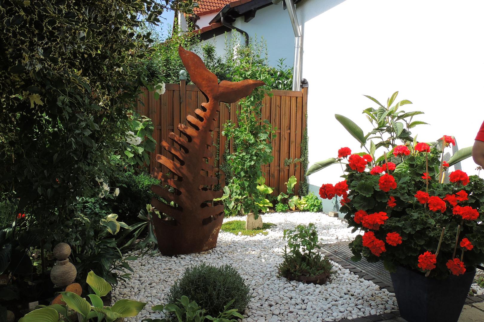 Pflanzen und Kunst vereint