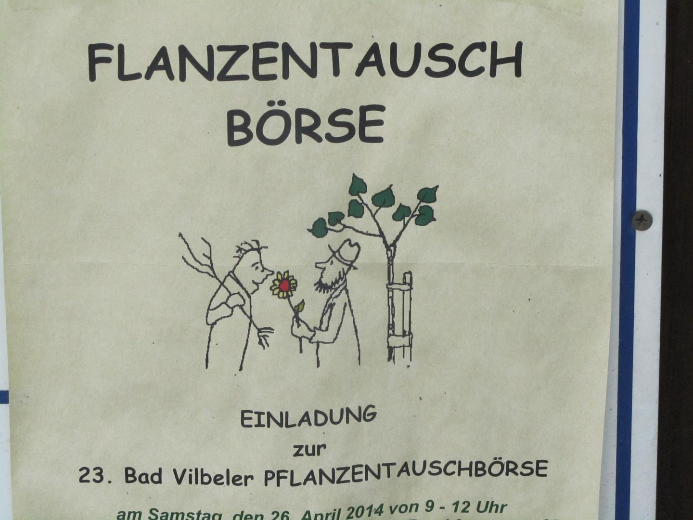 Pflanzentausch/ Buchstabentausch ?