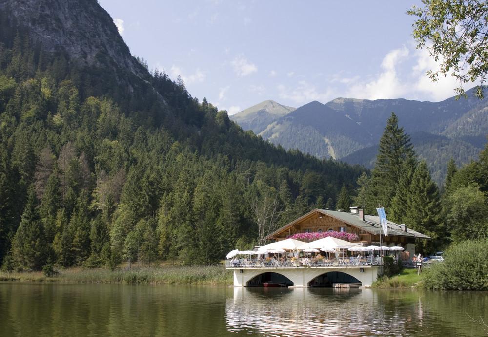Pflegersee in garmisch partenkirchen foto bild - Garmisch partenkirchen office du tourisme ...