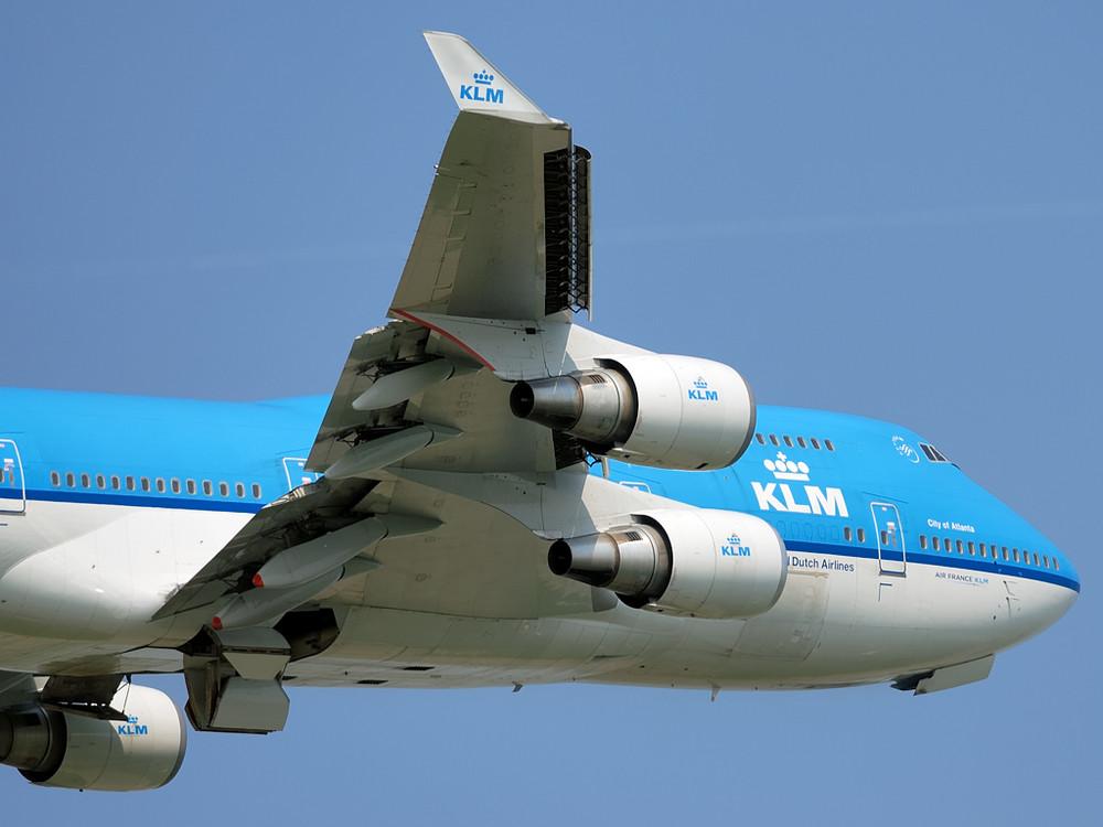 "PH-BFA (""City of Atlanta"") beim Abflug von der 18C (AMS, 22.05.2008)"