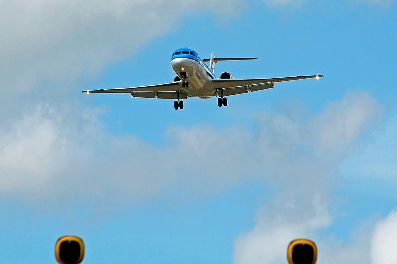 PH-KZN im Anflug
