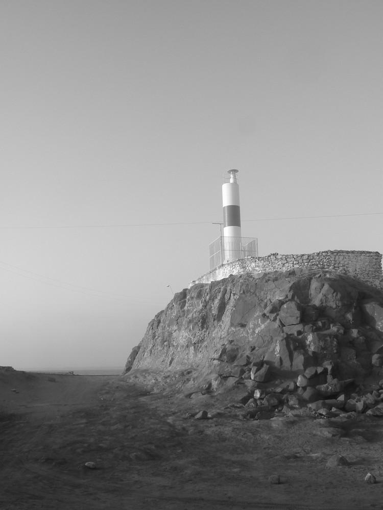 Phare de l'île de l'Alacran, Arica, Chili