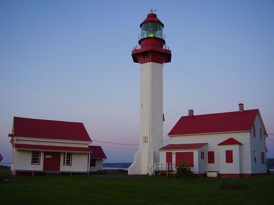 Phare Métis sur mer- Gaspésie