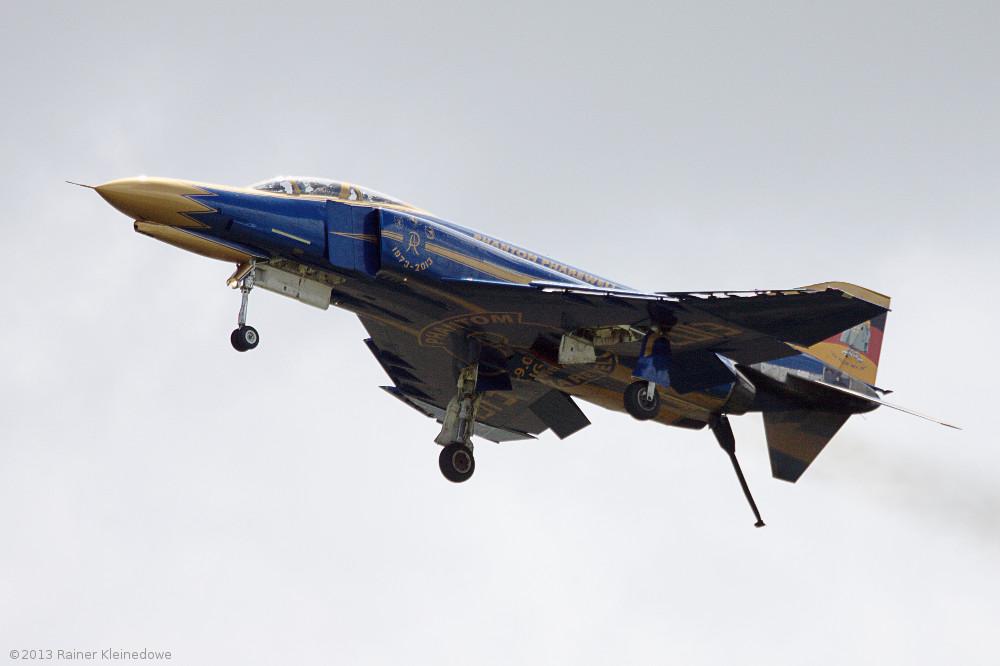 Pharewell Phantom; Flyout der Phantom F4-F in Wittmund