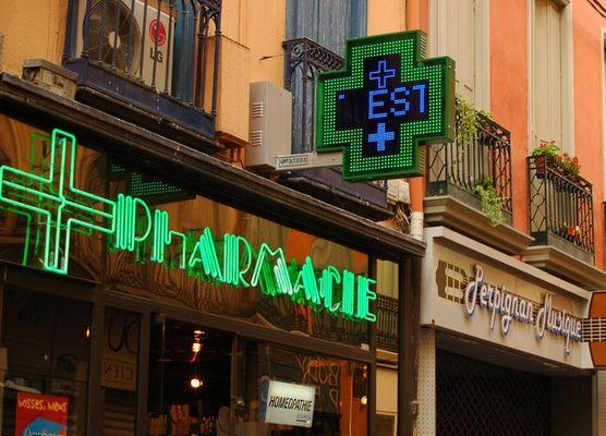 Pharmacie in Perpignan