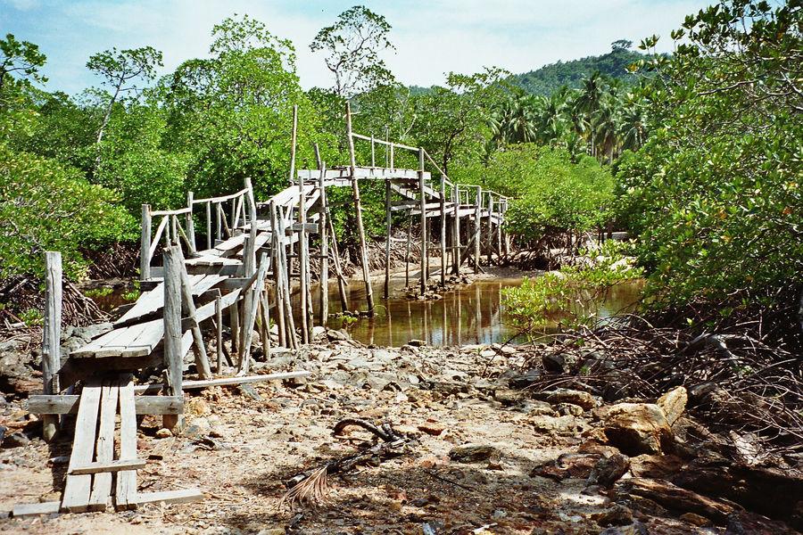 Phi Phi Island 1995  (analoge Aufnahme)