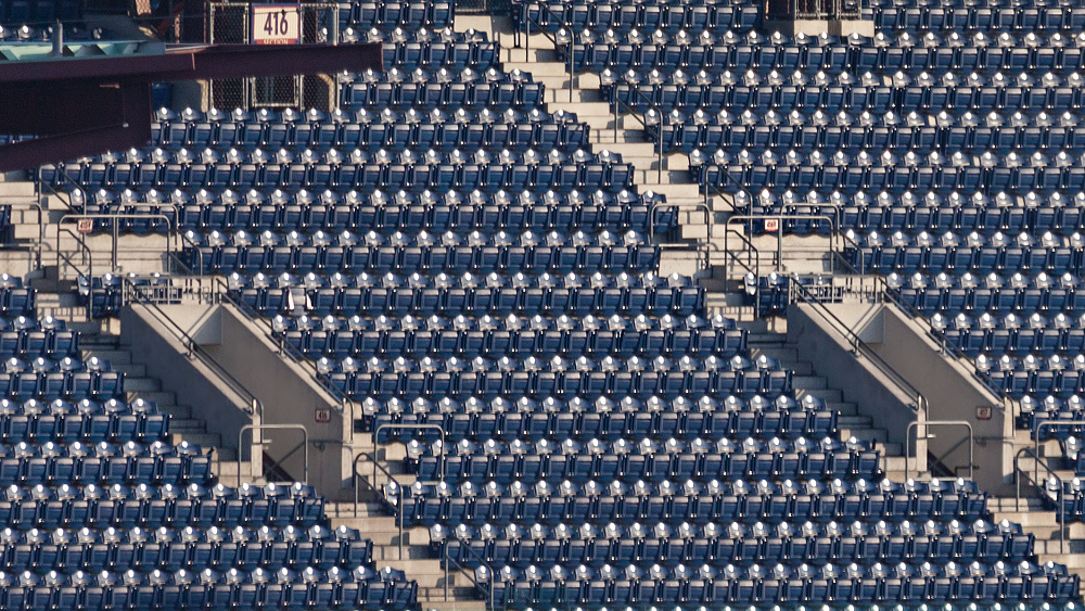 Philadelphia Stadium ganz nah