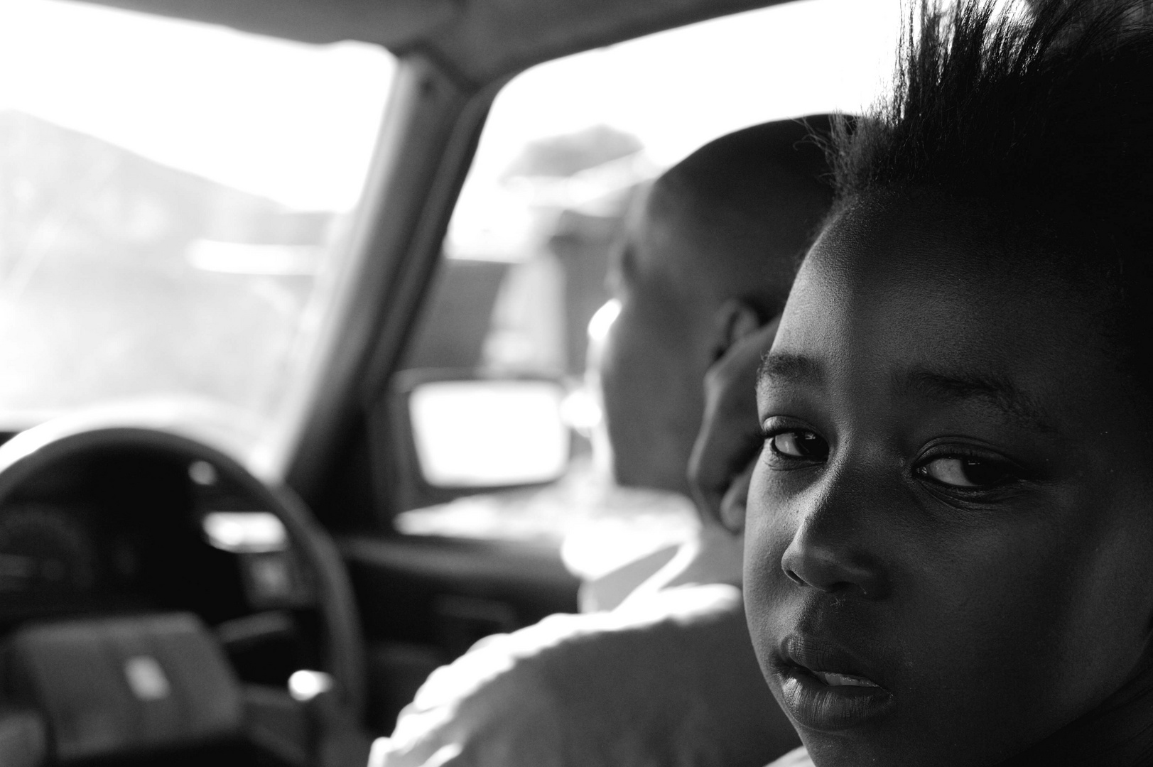 Philippi girl in township taxi