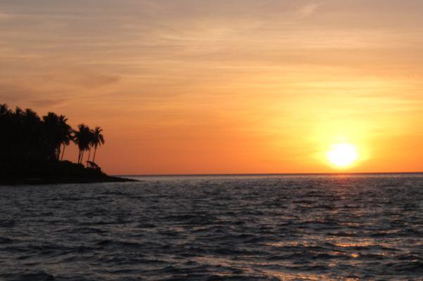Philippinen am Abend