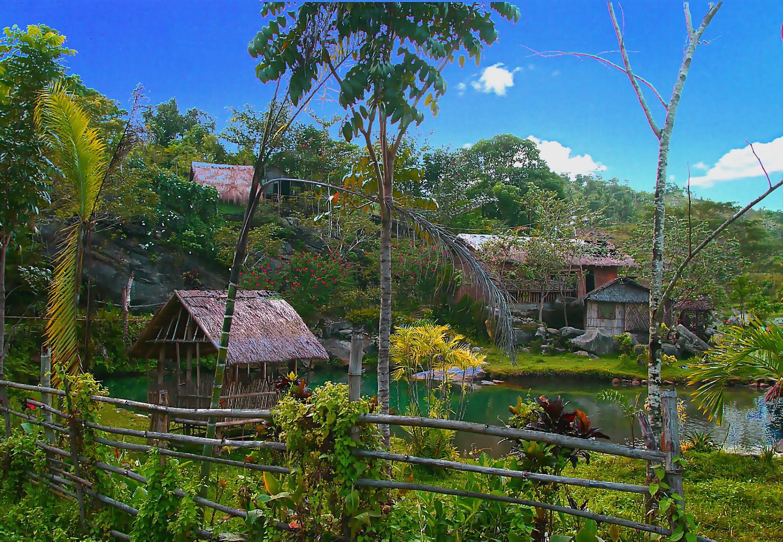 Philippinisches Dorf